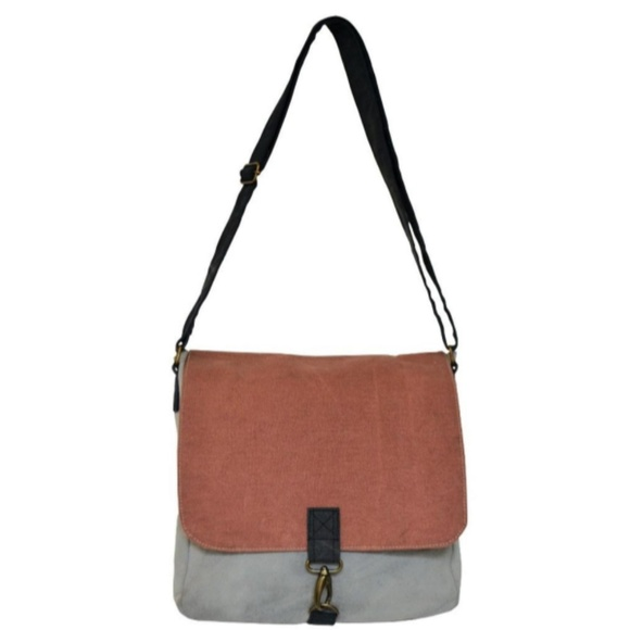 Handbags - Canvas Crossbody